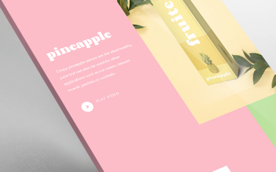 Fruite Products Template